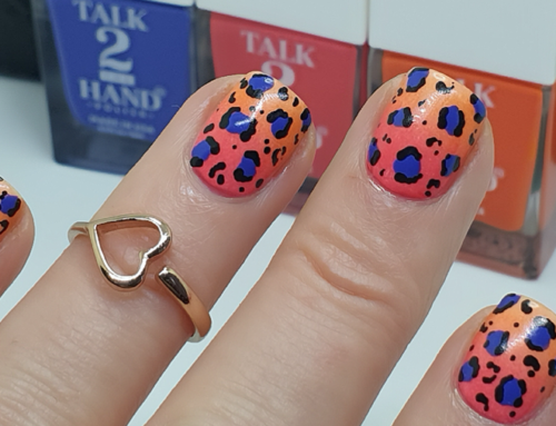 WATCH | Sunset Leopard Nail Art Tutorial